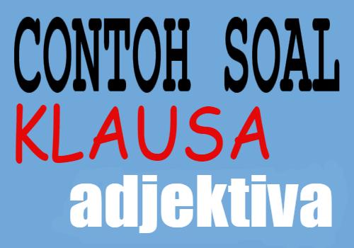 Klausa Adjektiva