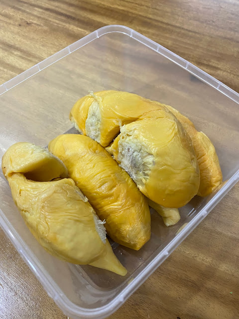 red prawn durian malaysia