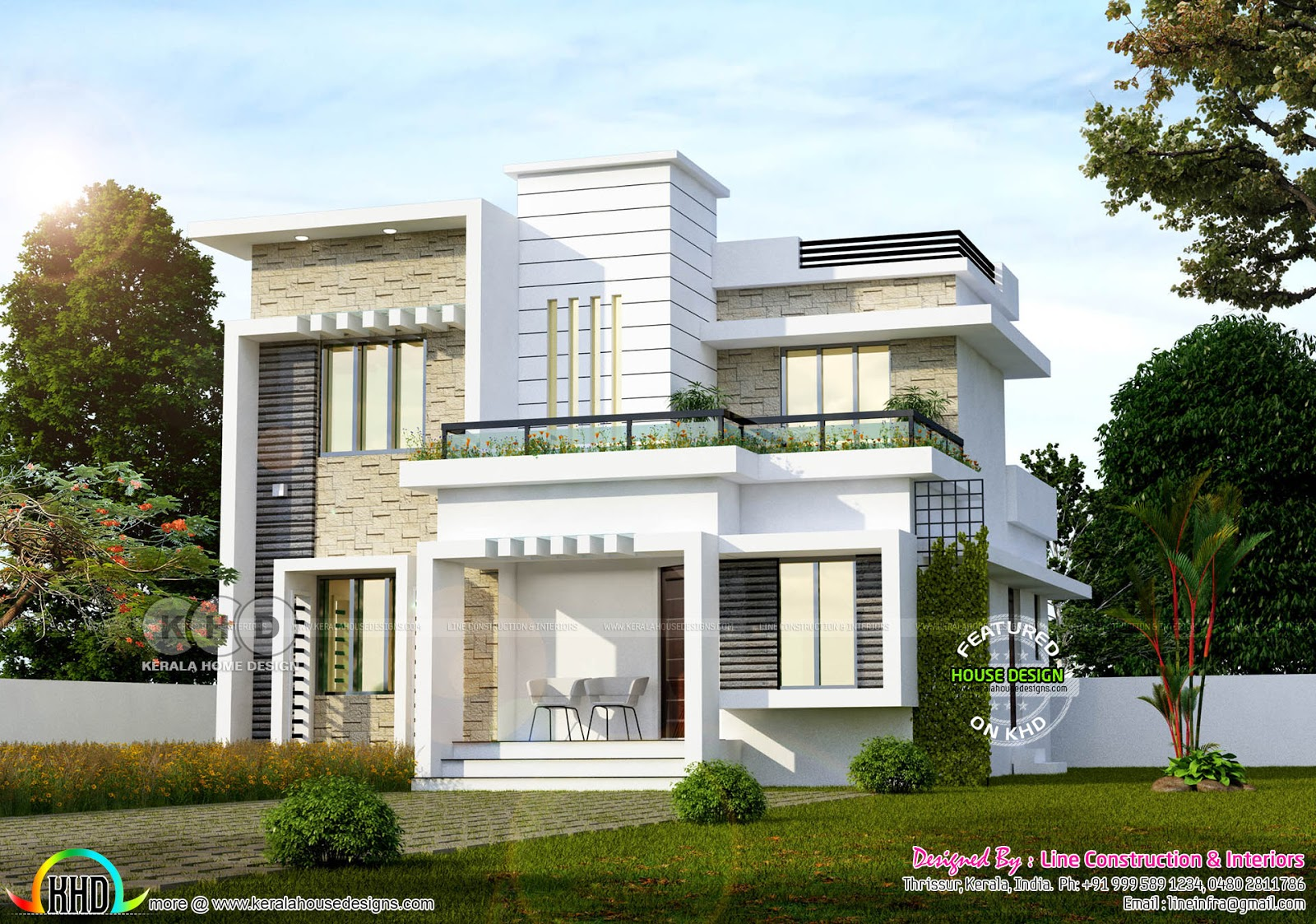 April 2018 Kerala Home Design And Floor Plans