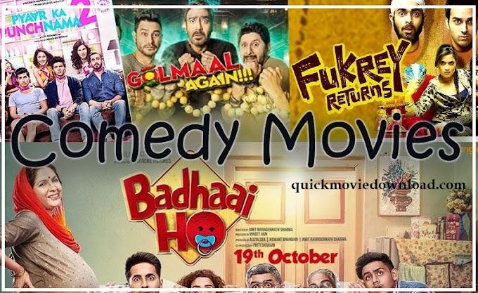 New Latest Hindi  comedy movies ( 2019 - 2020 )