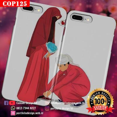Model casing handphone couple pasangan muslim terbaru COP125