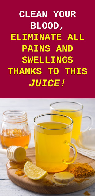 Cleanse Your Blood, Get Rid Of All Pains And Inflammations Thanks To This Juice!