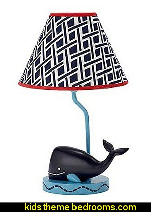 Whale of a Tale Lamp Base & Shade