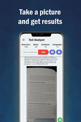 تطبيق Text Analyzer Pro للأندرويد, تطبيق Text Analyzer Pro مدفوع للأندرويد, تطبيق Text Analyzer Pro مهكر للأندرويد