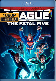 Justice League Vs The Fatal Five [2019] [1080p BRrip] [Latino- Ingles] [GoogleDrive] LaChapelHD
