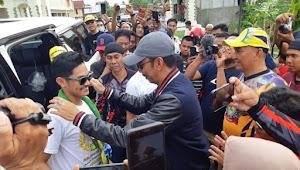 Jawara AP250 Asia Diarak Keliling Kota Sengkang