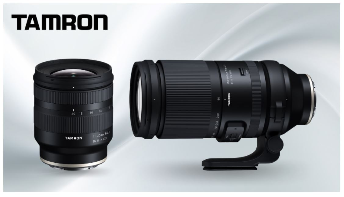 Tamron launches two new lenses for Sony e-mount cameras