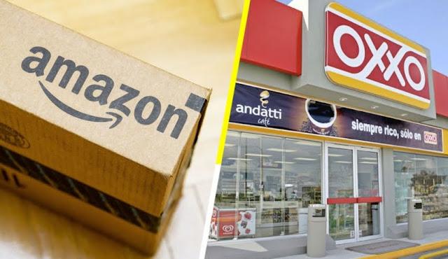 oxxo se convierte en puntos de entrega de paquetes amazon mexico