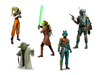 Star Wars Characters for St. Patrick's Day Wreath