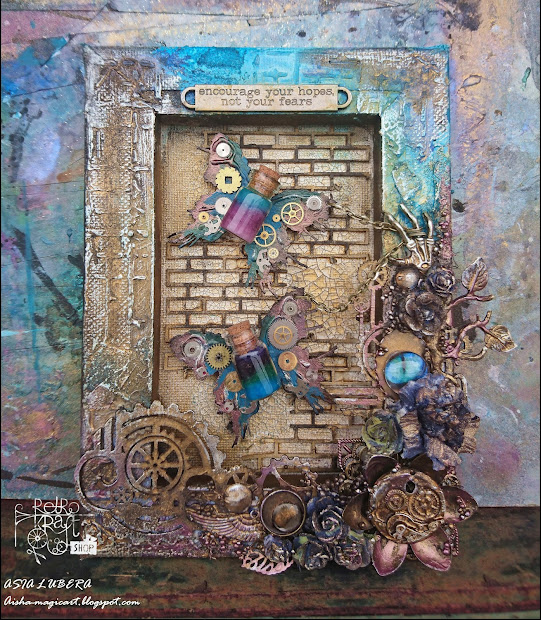 Mixed Media Canvas Altered And Art