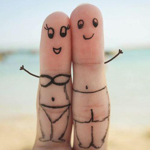 happy love DP