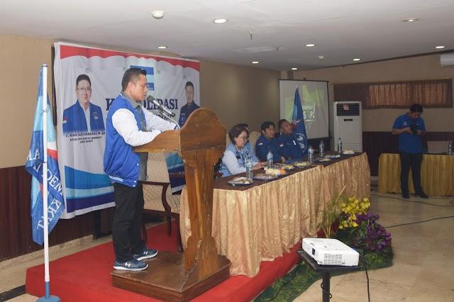 DPD Partai Demokrat Jabar  Gelar Konsolidasi  se Kabupaten Cirebon