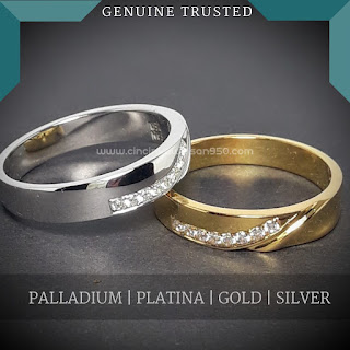 cincin kawin nikah lamaran tunangan couple pasangan wedding ring custom muslim