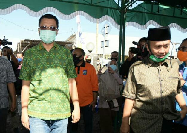 Didampingi Bupati Lobar, Gubernur NTB Luncurkan JPS Gemilang Tahap II