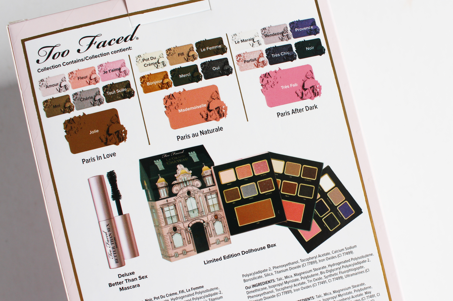 TOO FACED | Christmas 2015 Le Grand Chateau - Review + Swatches - CassandraMyee
