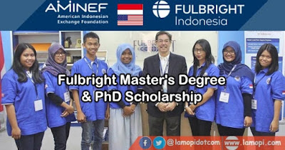 Fulbright Master's Degree and PhD Scholarship