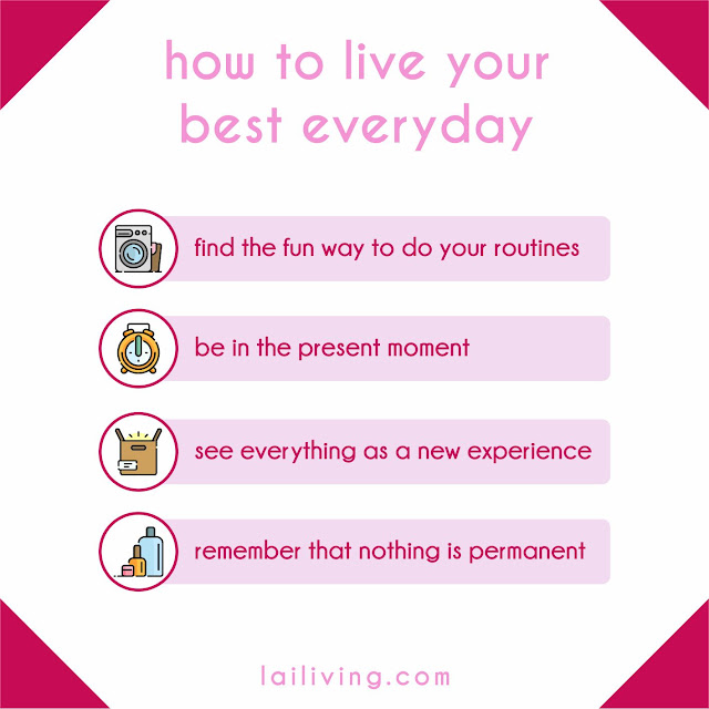 live your best day graphic