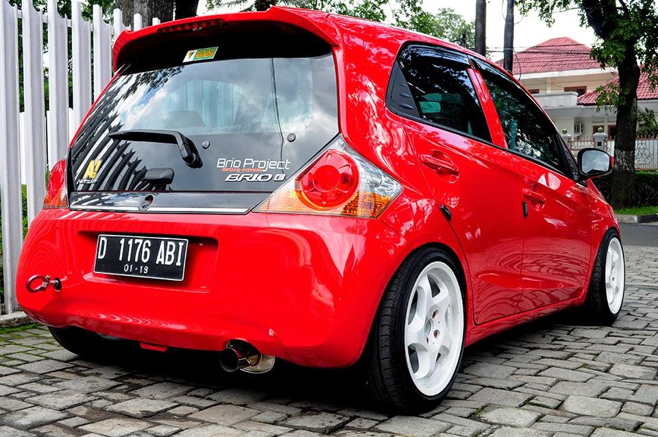 84 Modif Mobil Brio Warna Merah HD Terbaik