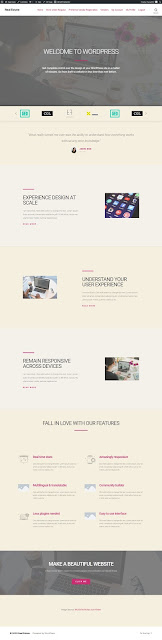Agency Home Page Sample