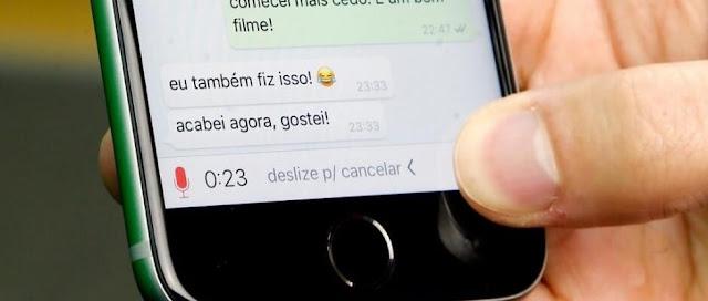 WhatsApp vai mudar o recurso de gravar áudio CONFIRA!!!!