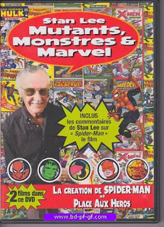 Dvd, Stan Lee, Mutants, Monstre et Marvel