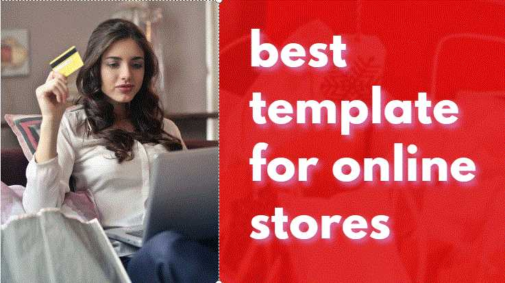 The best template for online stores on Blogger
