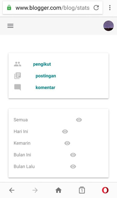 Tampilan Baru Dashboard Blogger  2019 Lebih Responsive