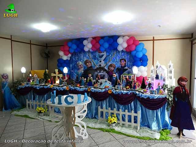 Festa Frozen - Decoração Tradicional Super Luxo