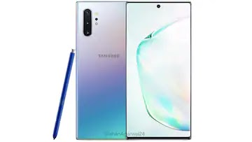 Samsung Galaxy Note 10, Galaxy Note 10+ Aura Glow Colour Leaked With Blue S Pen