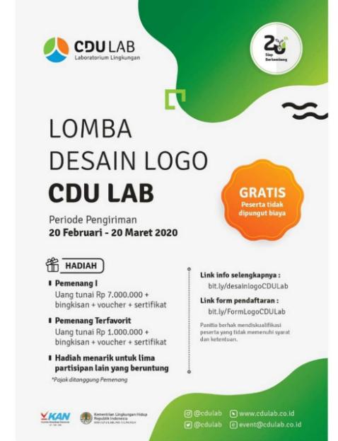 Kompetisi Desain Logo Nasional 2020, Gratis