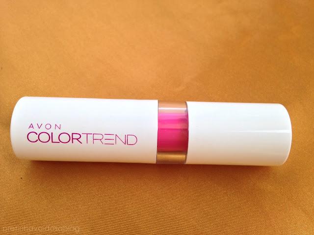 Batom Color Trend Avon - Pink Metal Pele Negra