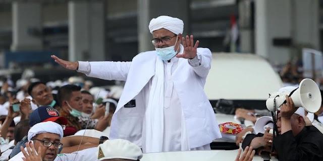 Habib Rizieq Siap Bacakan Eksepsi Secara Offline