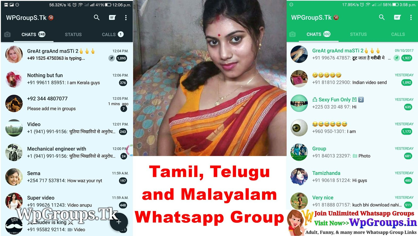 malayalam and telugu whatsapp group links many people searching lots of time for tamil and malayalam whatsapp group link so now i m here with 100