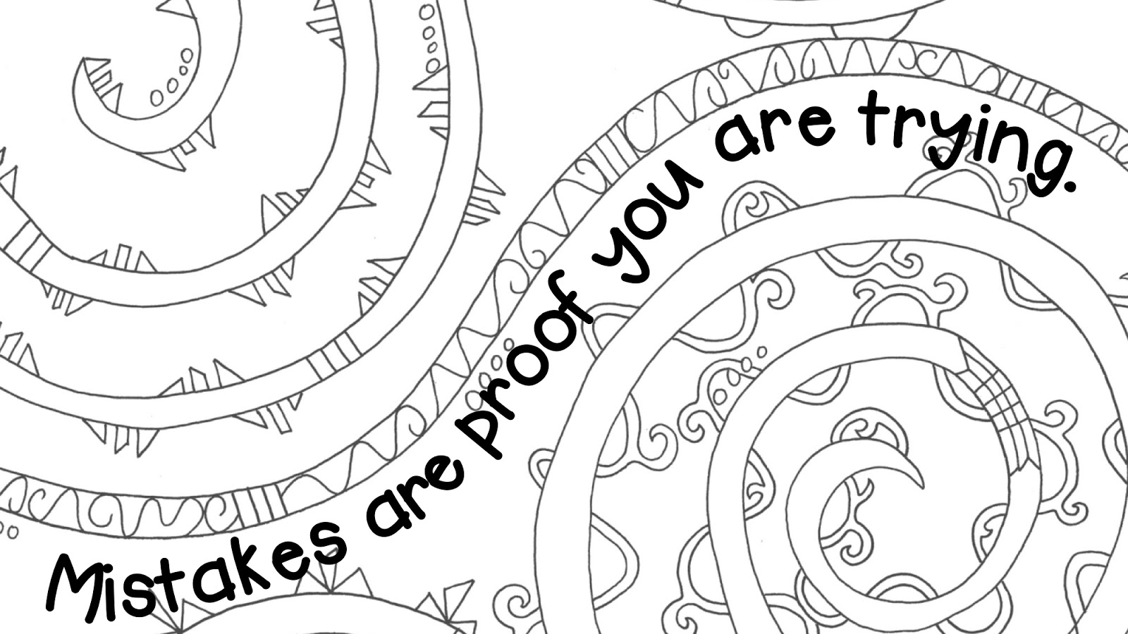 Free coloring pages growth mindset -  I First Thought Of All The Nice Growth Mindset Coloring Pages I Ve Seen And Thought They Would Look Great Hanging Up In The Classroom