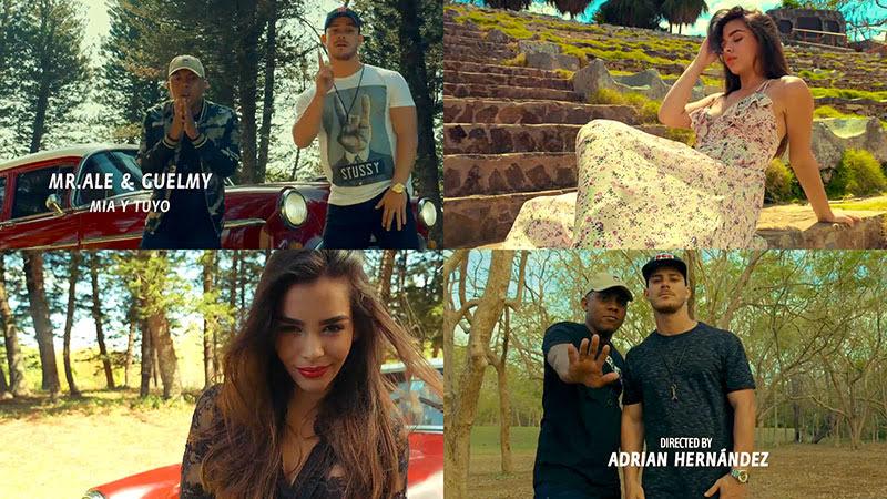 Mr. Ale y Guelmy - ¨Mía y Tuyo¨ - Videoclip - Dirección: Adrián Hernández. Portal Del Vídeo Clip Cubano