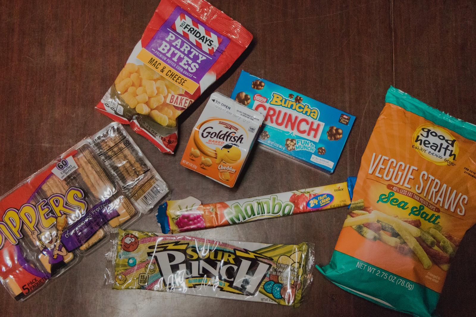 snacks americanos