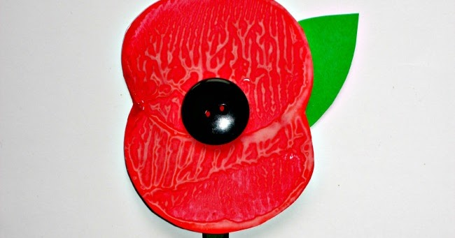 Remembrance Day Poppy Craft Messy Little Monster