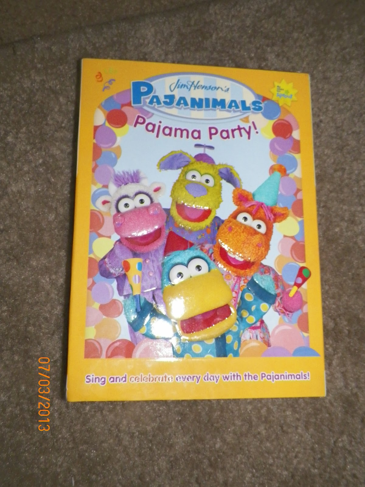 b9f262849e mygreatfinds  Pajanimals  Pajama Party! DVD Review
