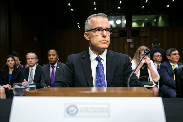 Andrew McCabe, a Symbol of Trump's F.B.I. Ire, Faces Possible Firing