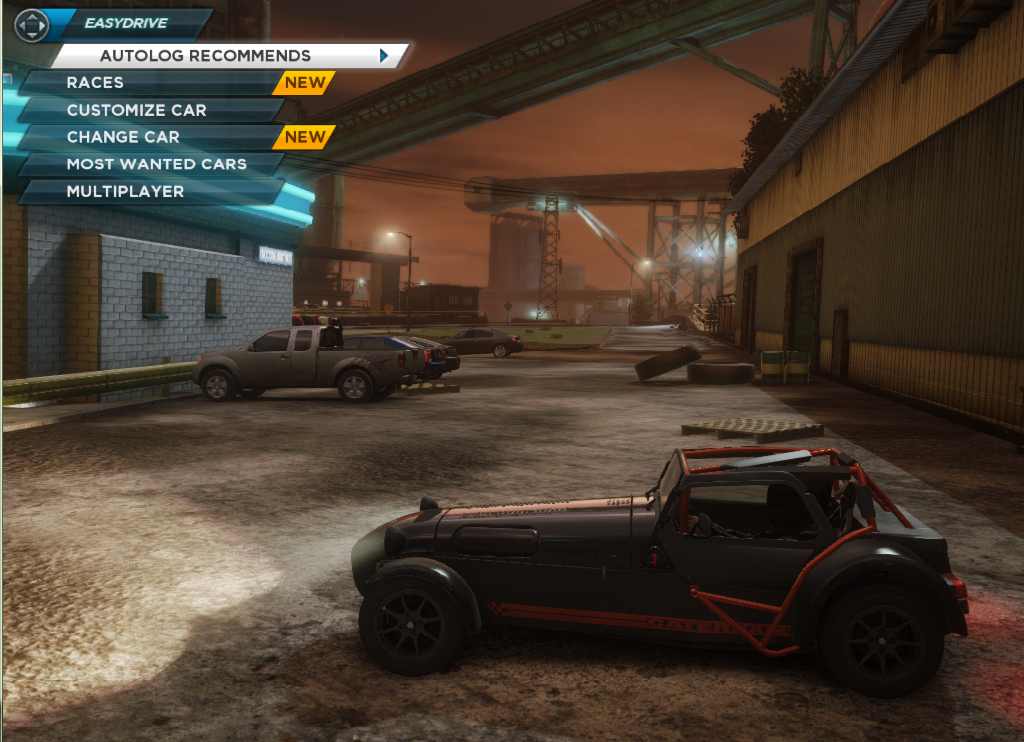 Need For Speed Most Wanted Car Locations Caterham Superlight R500