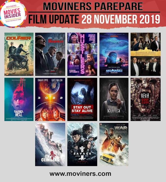 FILM UPDATE 28 NOVEMBER 2019