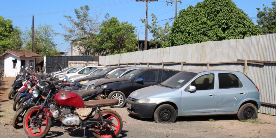 DMTU promove terceiro leilão de veículos apreendidos