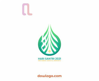 Logo Hasi Santri Nasional 2021 - RMI NU Vector Format CDR, PNG