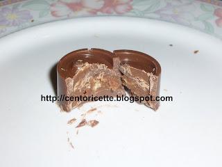Cioccolatini al latte ripieni alla nocciola