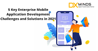 5 Key Enterprise Mobile Application Development Challenges and Solutions in 2021