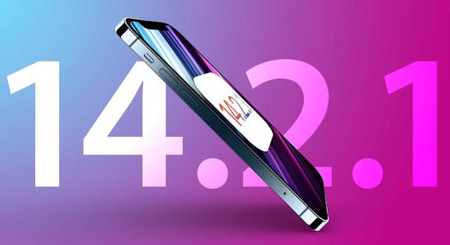 iOS 14.2.1 تحديث جديد من آبل لإصلاح بعض المشاكل