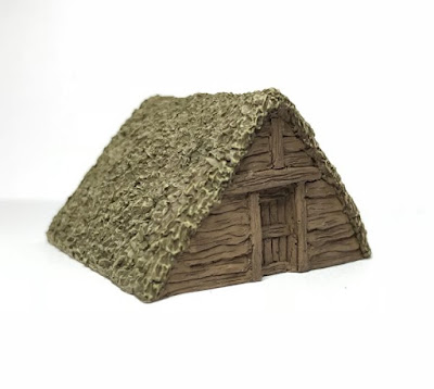 1 x Thatched Grain Store