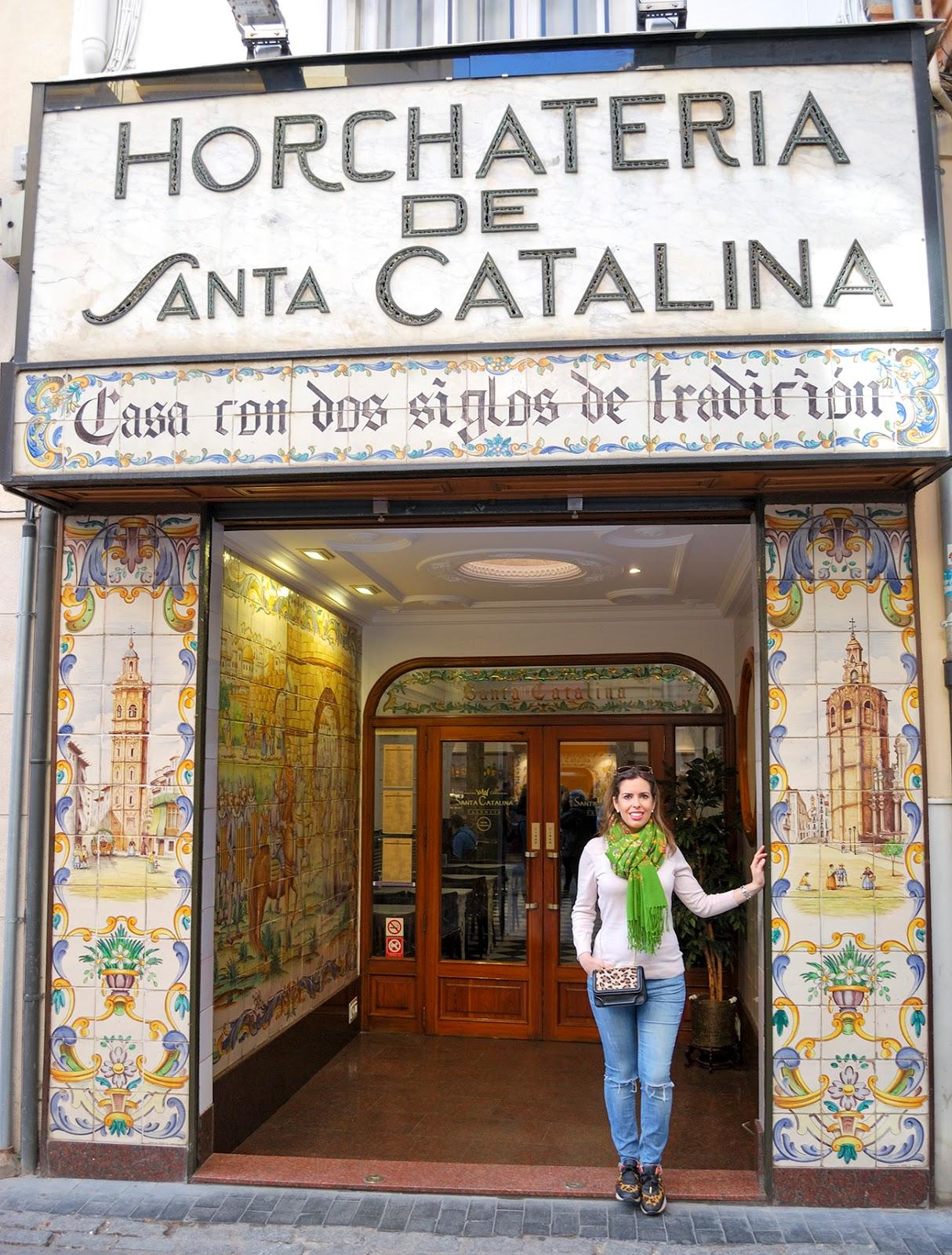horchateria santa catalina horchata valencia