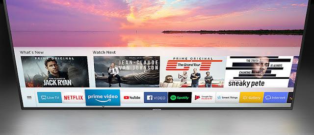 Smart Tivi Samsung 4K 55 inch UA55NU7100KXXV