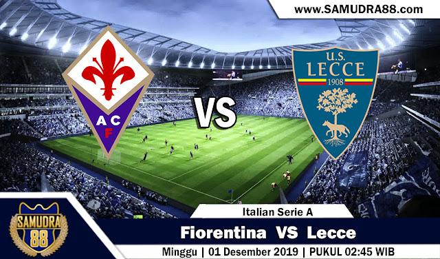 Prediksi Bola Terpercaya Liga Italia Fiorentina vs Lecce 1 Desember 2019